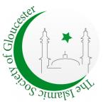 Islamic society of Gloucester logo