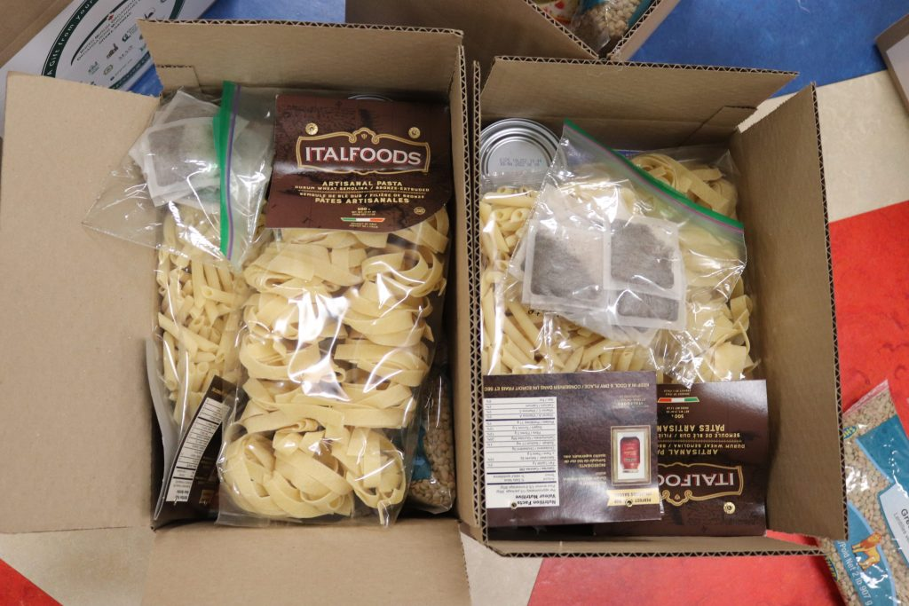 Our First Food Boxes